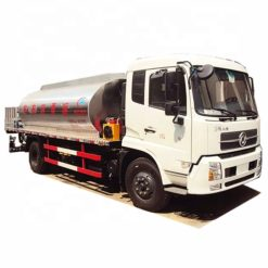 Dongfeng 10 ton to 12 ton asphalt delivery truck