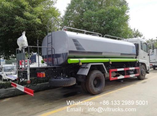 Dongfeng 10 ton to 12 ton water trucks
