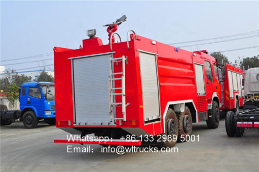 Dongfeng 12 ton water tank fire fighting truck