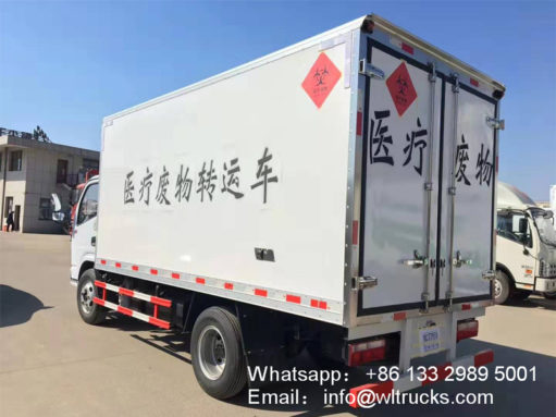Dongfeng 12ft Medical waste truck