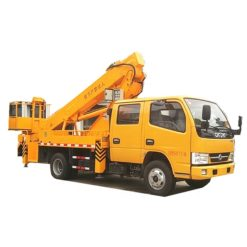 Dongfeng 14m to 16m telescopic arm aerial platform truck