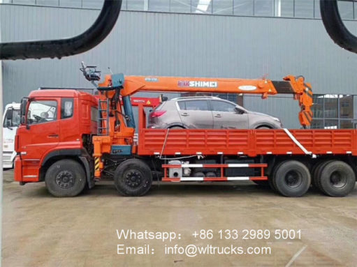 Dongfeng 14ton 16ton crane truck