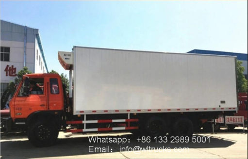 Dongfeng 16ton to 20ton refrigerated trucks