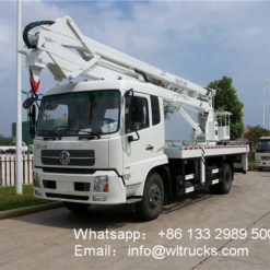 Dongfeng 20m to 22m aerial platform truck