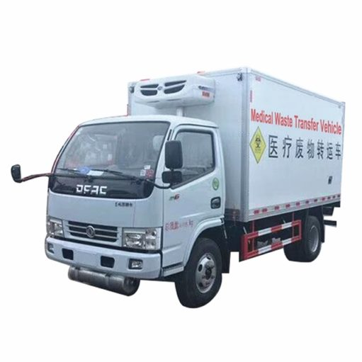 Dongfeng 3 ton 12ft Medical waste truck
