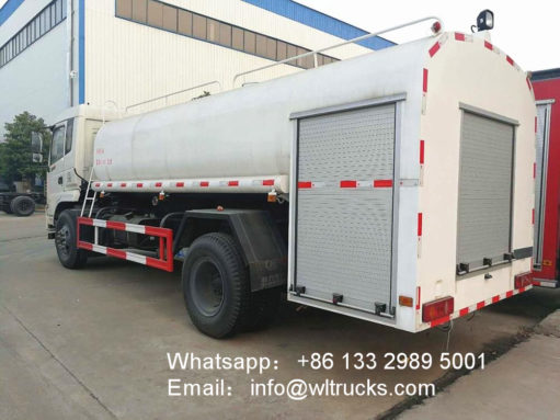 Dongfeng 4x4 fire water truck