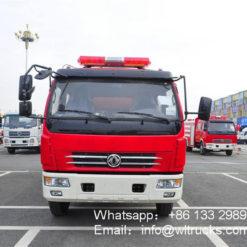 Dongfeng 5 ton foam fire truck