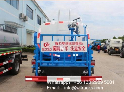 Dongfeng 5000l water tank trucks