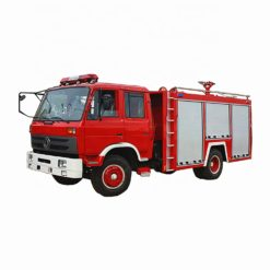 Dongfeng 6000 liter water pump jet fire fighting truck