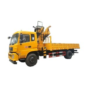 Dongfeng 6ton to 8ton Folding Arm hydraulic crane truck
