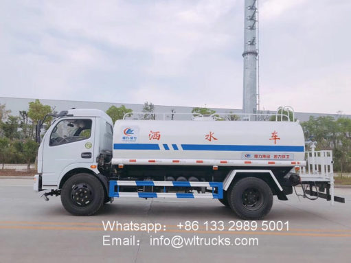 Dongfeng 8 ton water truck