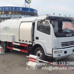 Dongfeng 6000liter lpg gas trucks