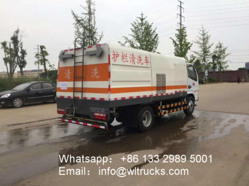 Dongfeng Guardrail Cleaning Truck