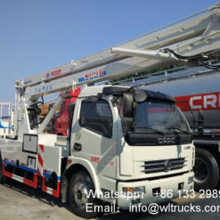Dongfeng aerial work truck