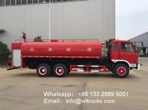 Dongfeng fire water truck