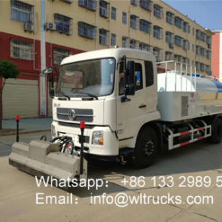 Dongfeng 8500L high pressure cleaning truck