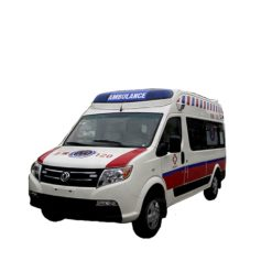 Dongfeng long wheelbase Diesel ward-type ambulance car