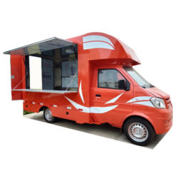 Dongfeng mini fast food truck