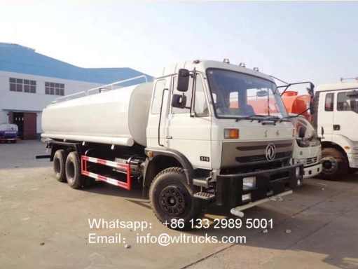 10 wheel Dongfeng 5000 gallon water delivery trucks