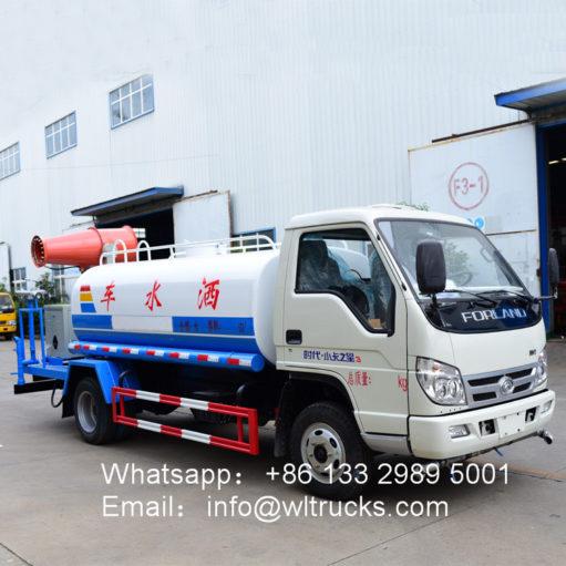 Dust suppression trucks