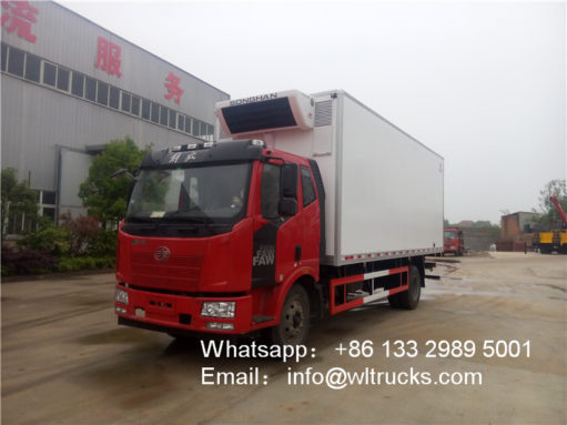 FAW 10 ton to 15ton Refrigerated Truck