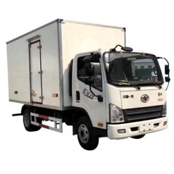 FAW 3 ton refrigerated delivery truck