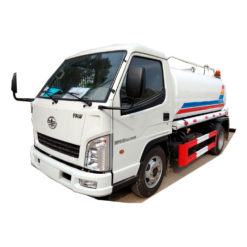 FAW 3000L 3m3 water Spray truck