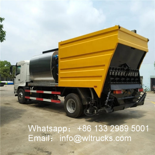 FAW Synchronous Chip Sealer asphalt trucks