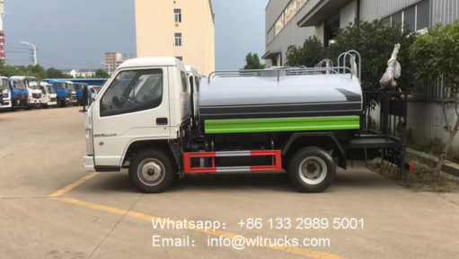 FAW water Spray truck