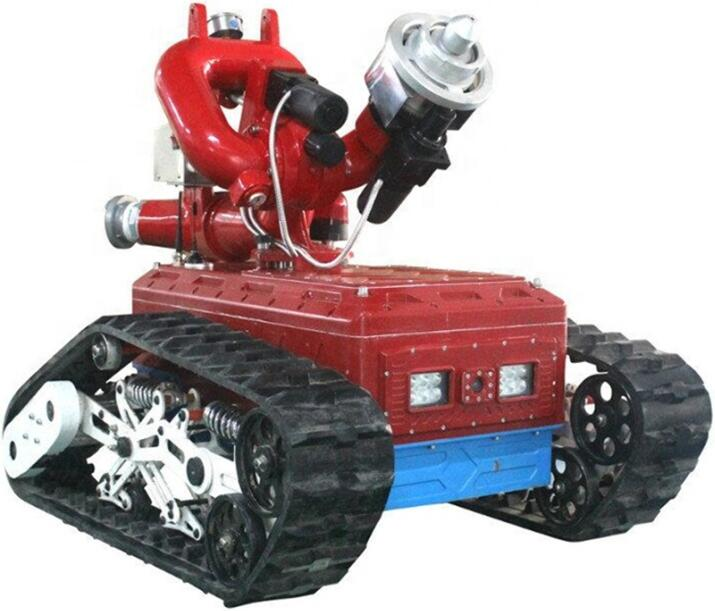 Fire fighter rescue robot
