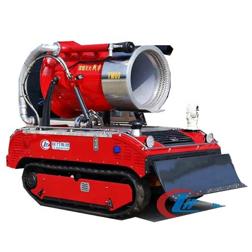 Fire fighting smoke extinguisher robot