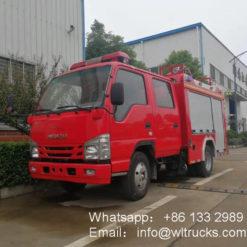 ISUZU 100p 2 ton Foam fire truck