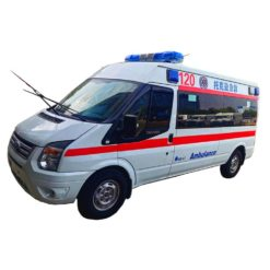 Ford Transit V348 long-axle mid-roof transport siren ambulance