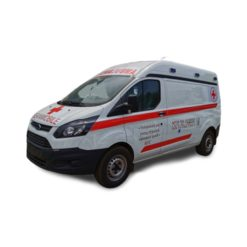 Ford Transit V362 short-axis ICU mobile hospital ambulance