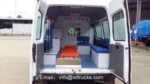 Ford V348 ICU ambulance vehicle
