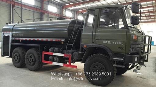 Forest desert off-road water truck