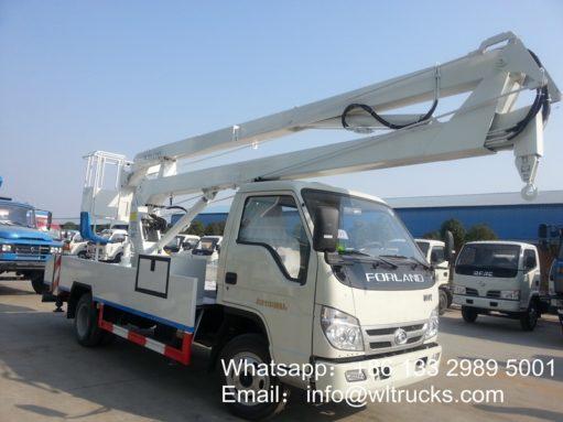 Foton 12m aerial platform truck