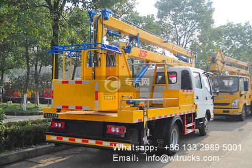 Foton 16m aerial working platform truck