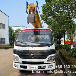Foton 18m aerial platform truck