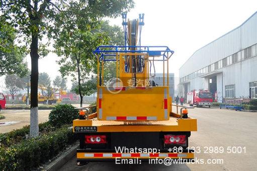 Foton 18m aerial working platform truck