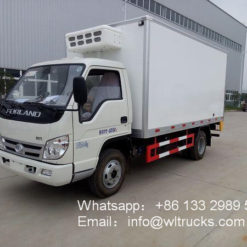 Foton 3 ton 14m3 refrigerated truck