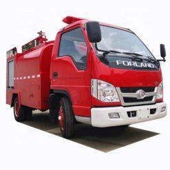 Foton 3000 liter airfield fire truck