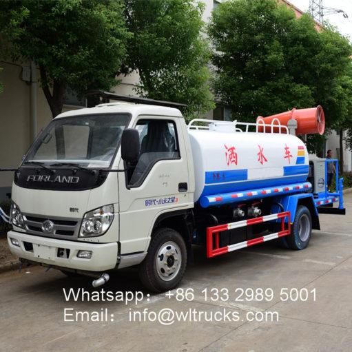 Foton 5000l Dust suppression trucks