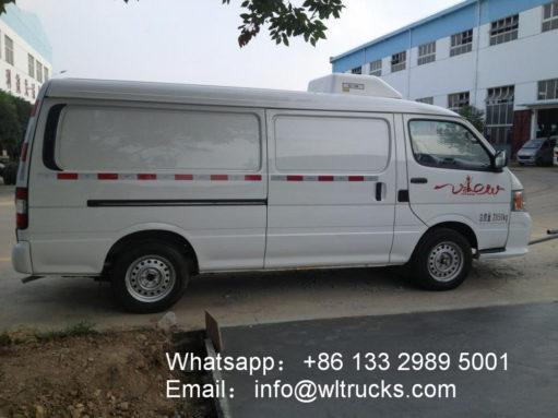 Foton fengjing frozen food truck