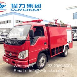 Foton fire truck