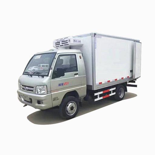 Foton mini refrigerated truck
