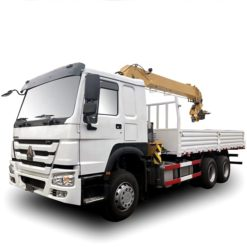 HOWO 10ton to 12ton truck and crane