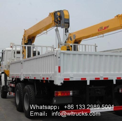 HOWO 10ton to 12ton truck crane