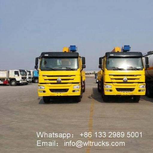 HOWO 14ton to 16ton cargo crane truck