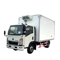 HOWO 3 ton Thermo King Meat Refrigerator truck